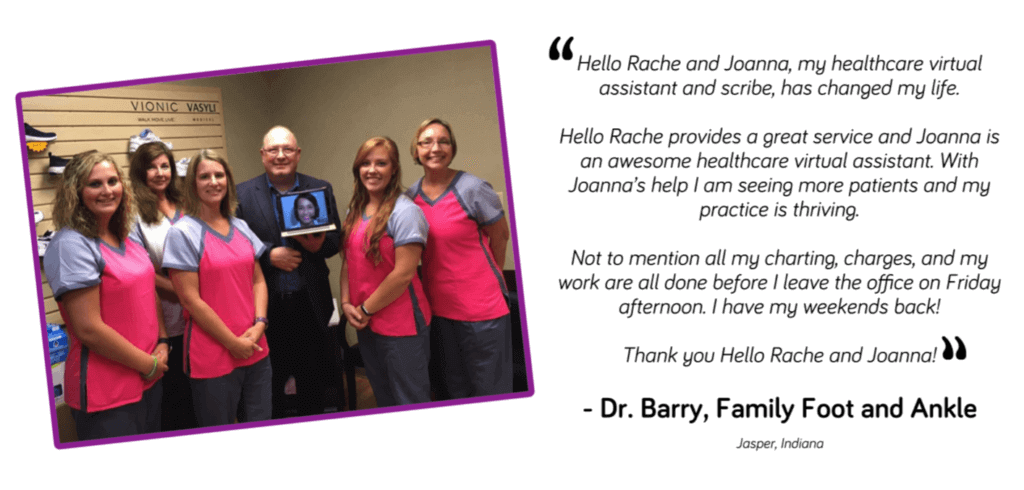 Dr. Barry Testimonial - Healthcare Virtual Medical Assistant